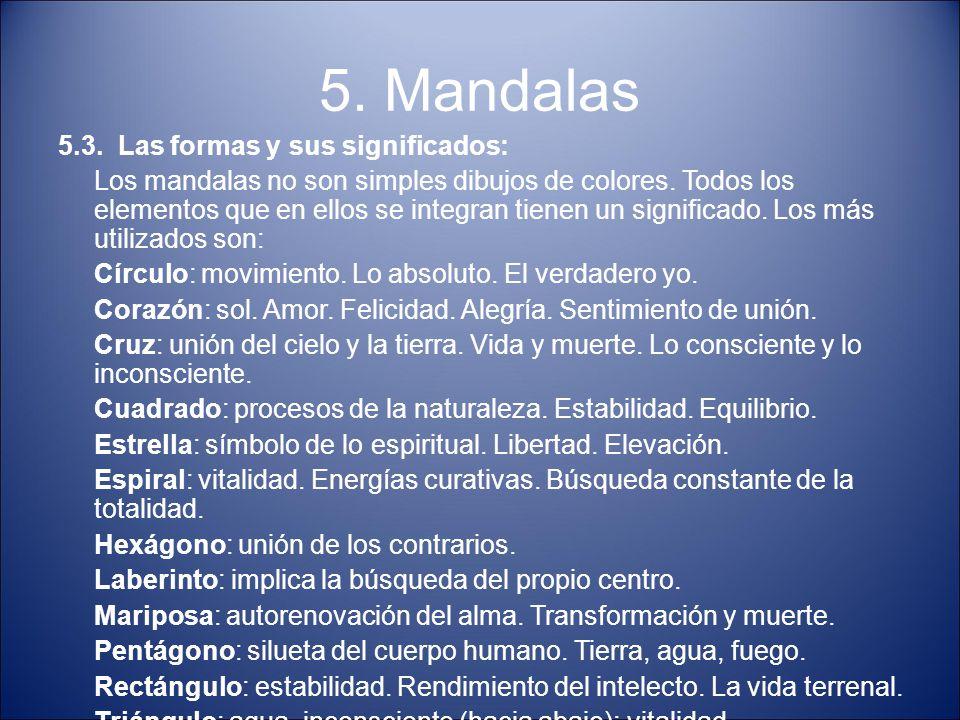 5. Mandalas 5.3. Las formas y sus significados: