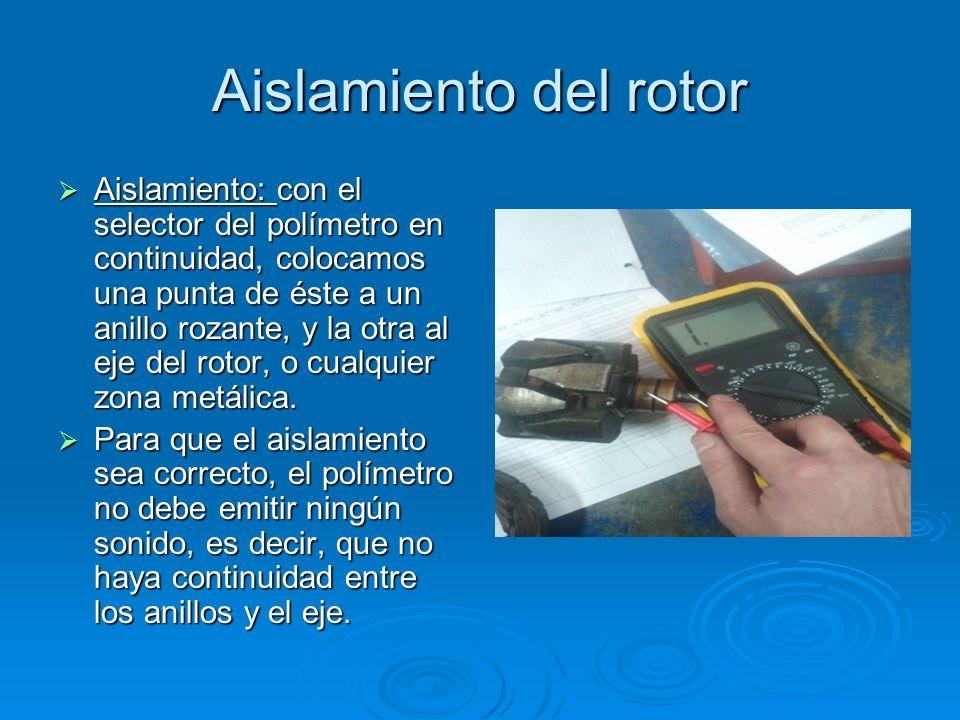 Aislamiento del rotor