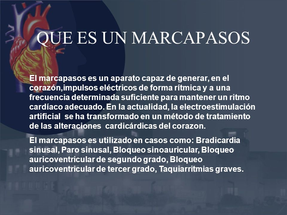 Marcapasos ppt video online descargar for Que es un vivero frutal