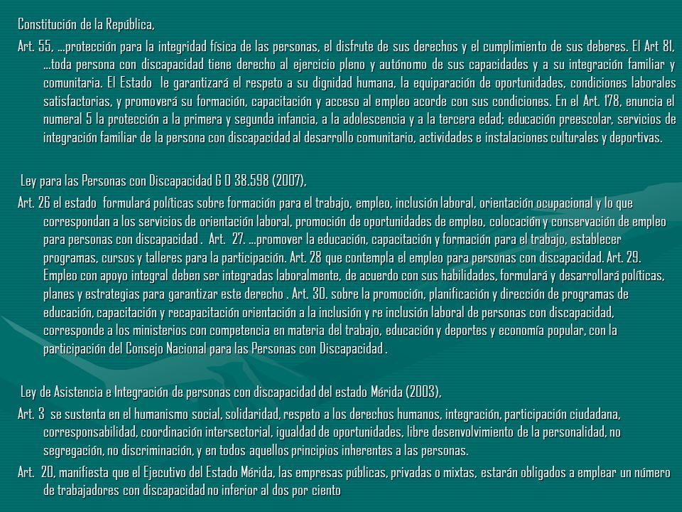 Constitución de la República,