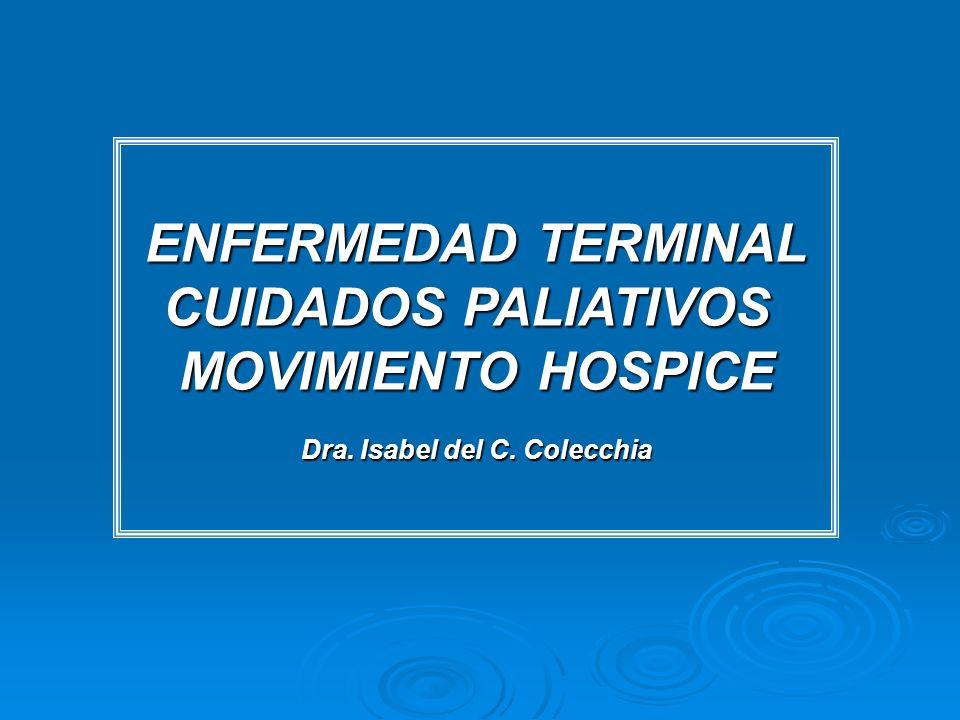 Dra. Isabel del C. Colecchia