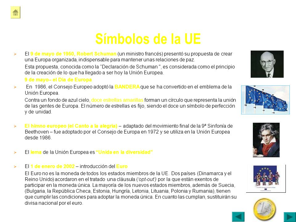 Símbolos de la UE