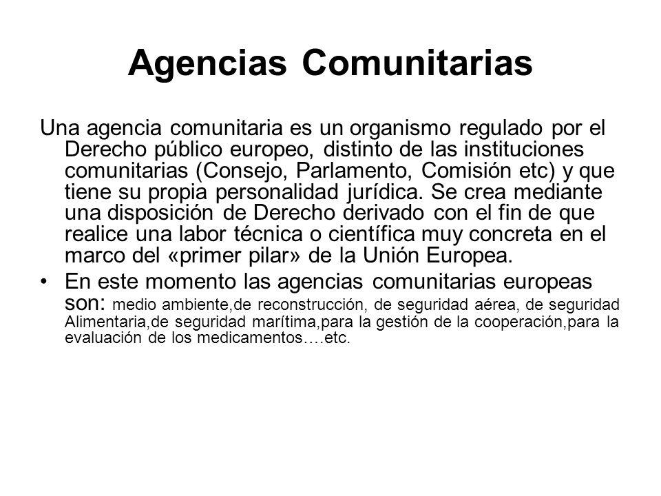 Agencias Comunitarias