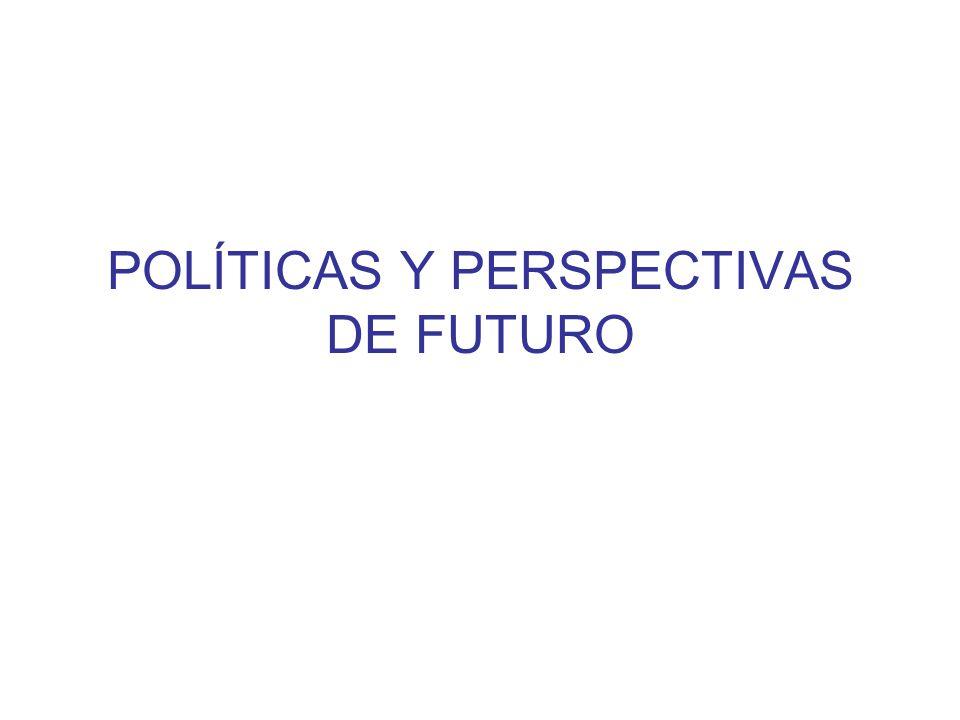 POLÍTICAS Y PERSPECTIVAS DE FUTURO