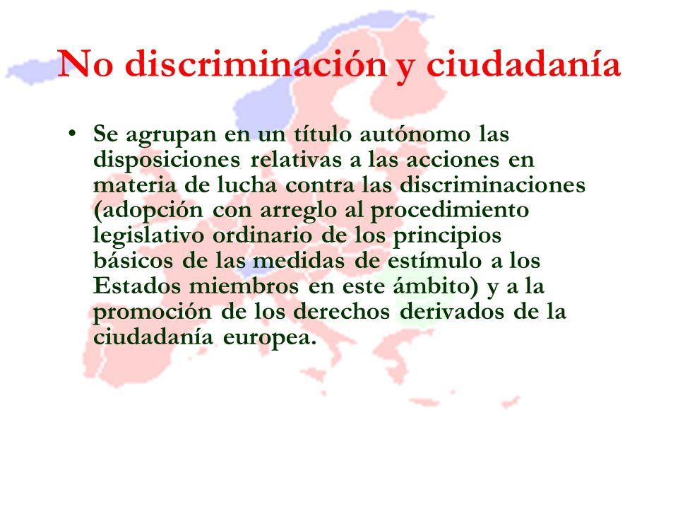 No discriminación y ciudadanía