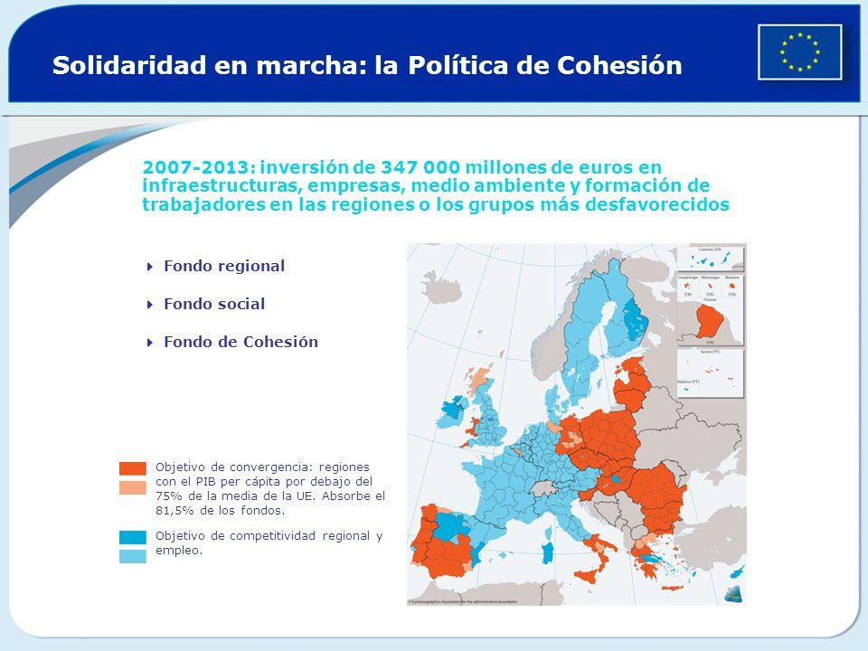 Solidaridad en marcha: la Política de Cohesión
