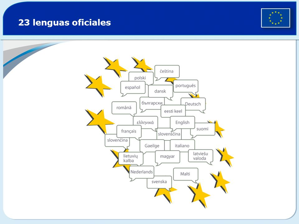 23 lenguas oficiales