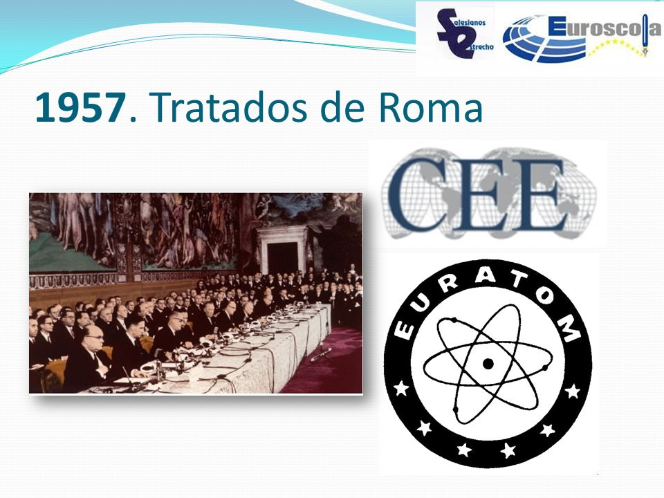 1957. Tratados de Roma