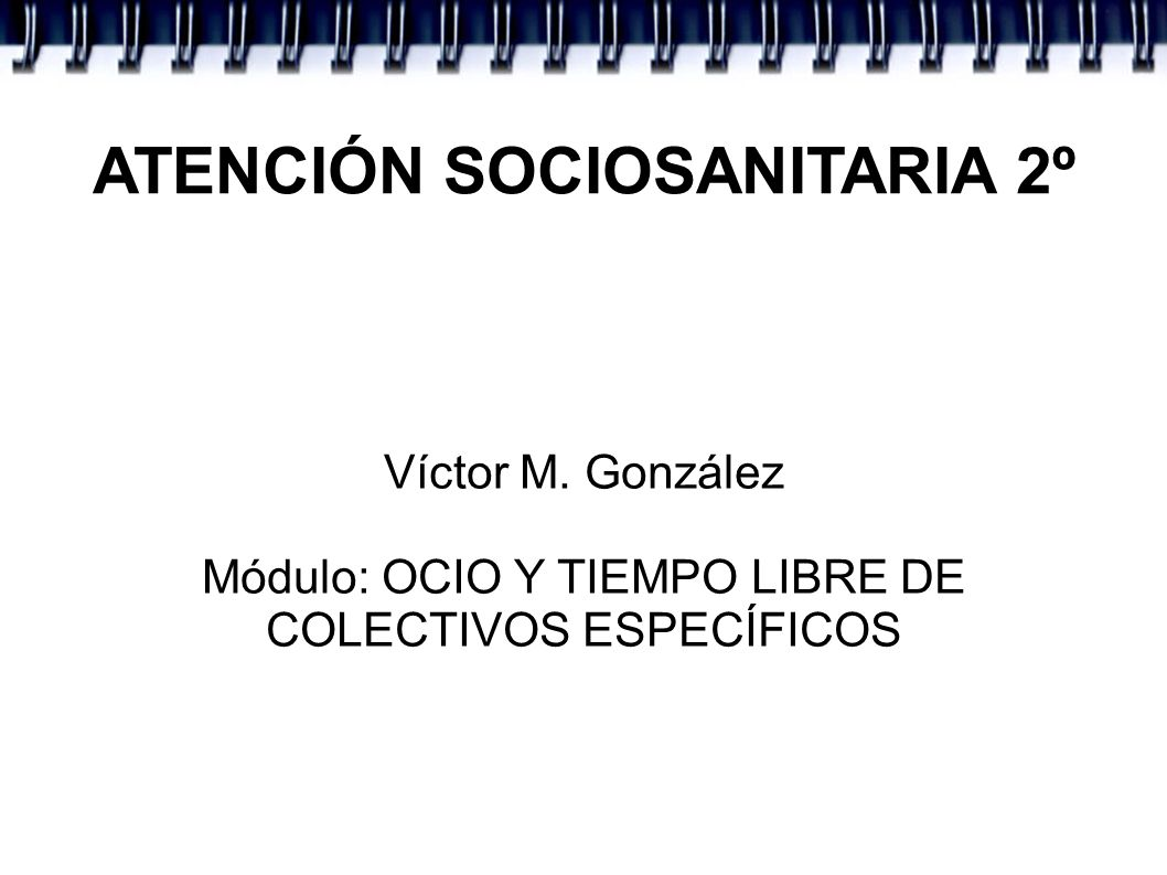 ATENCIÓN SOCIOSANITARIA 2º