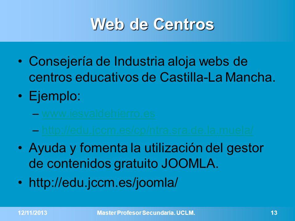 Master Profesor Secundaria. UCLM.