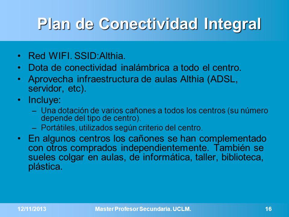 Plan de Conectividad Integral