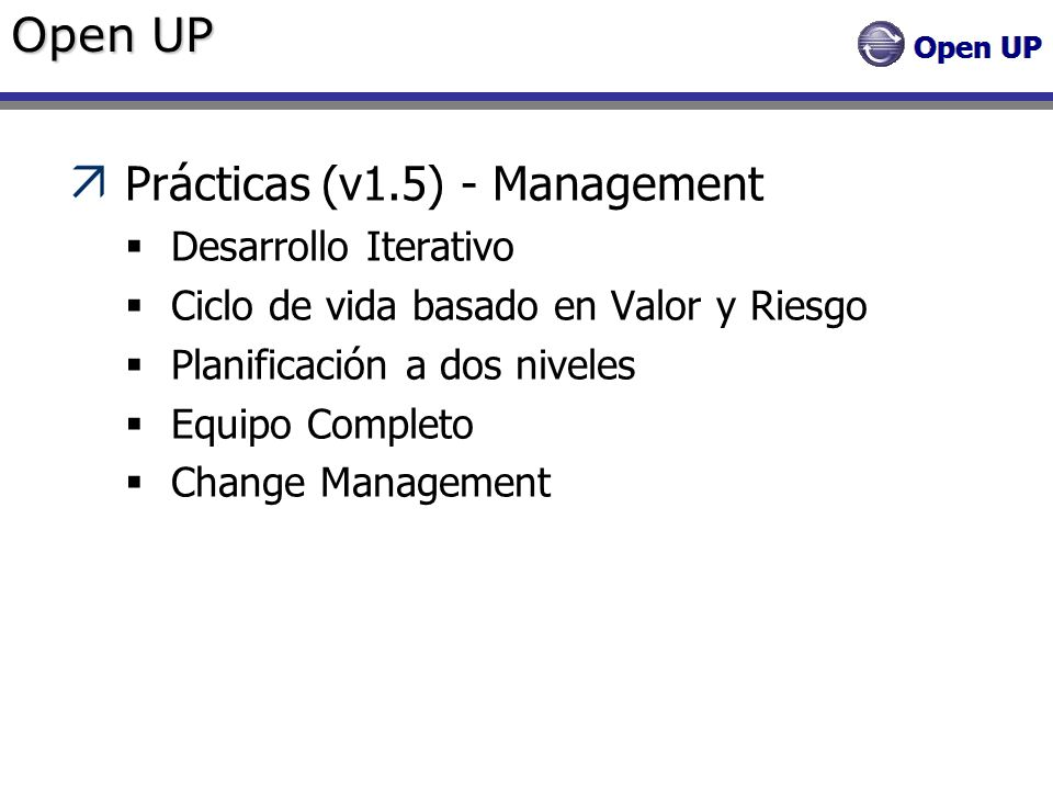 Prácticas (v1.5) - Management