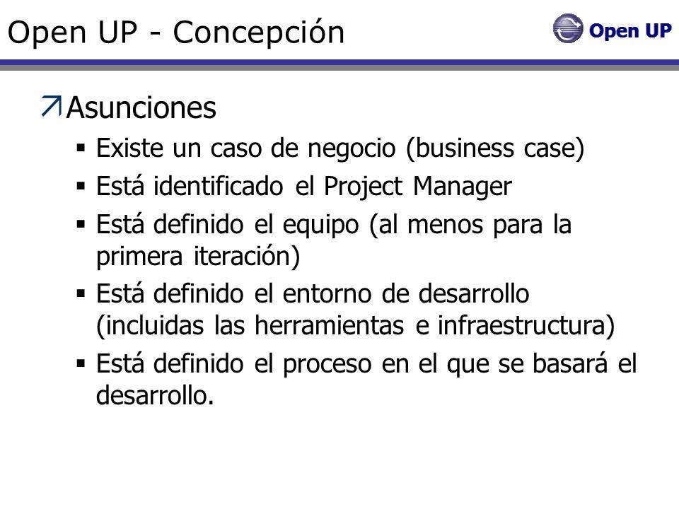 Open UP - Concepción Asunciones