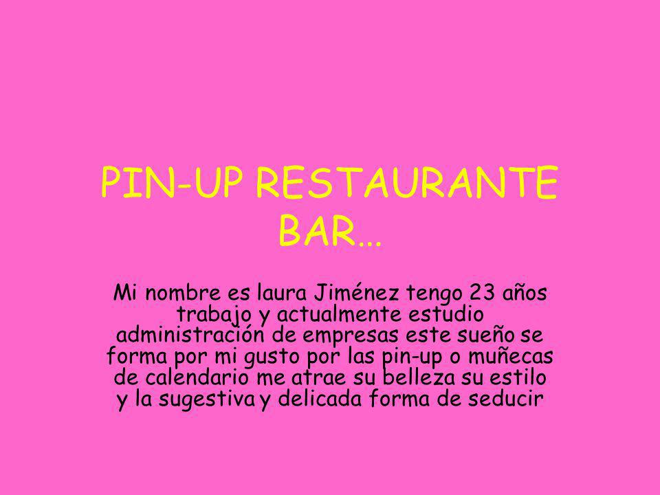 PIN-UP RESTAURANTE BAR…