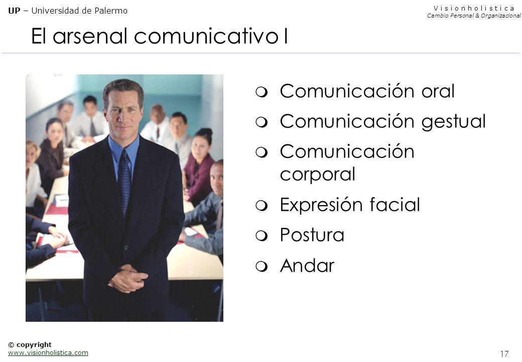 El arsenal comunicativo I