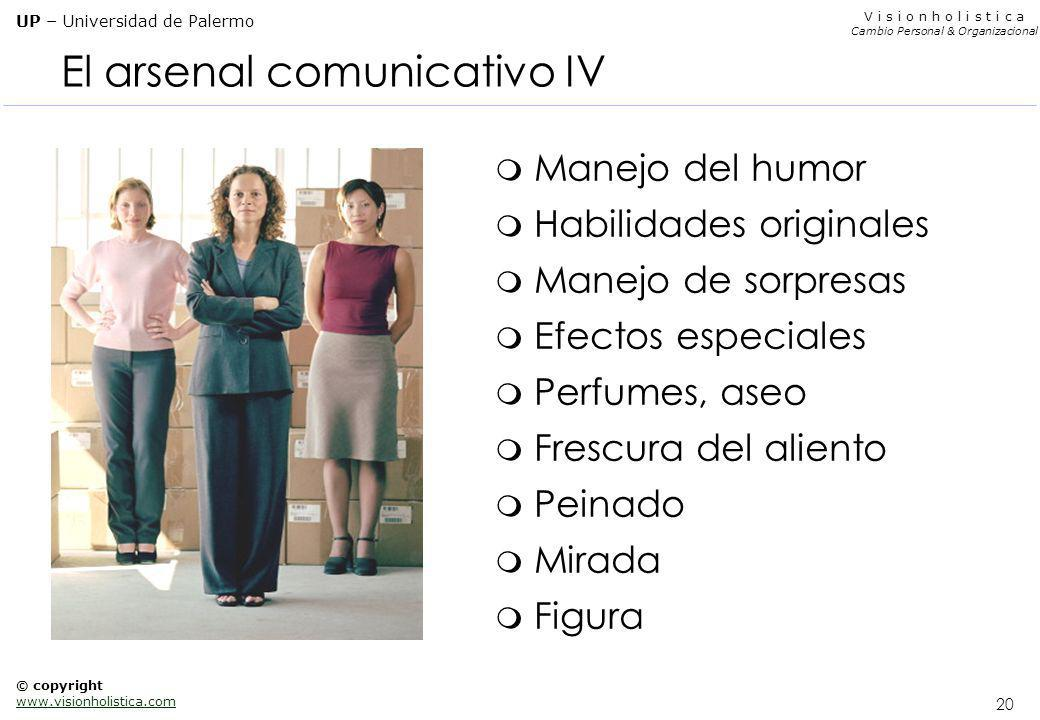 El arsenal comunicativo IV