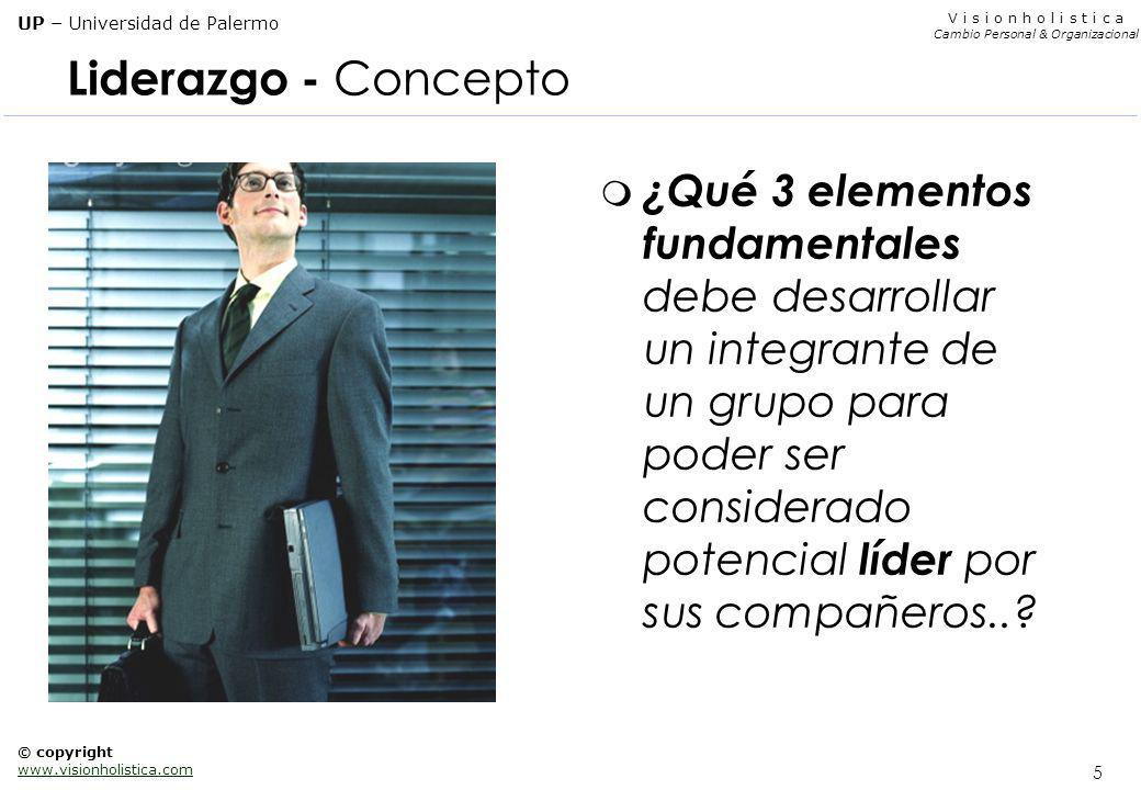 Liderazgo - Concepto