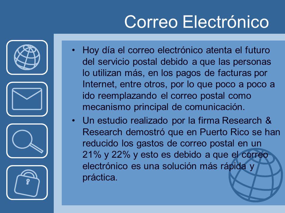 Los servicios de internet ppt descargar for Correo postal mas cercano