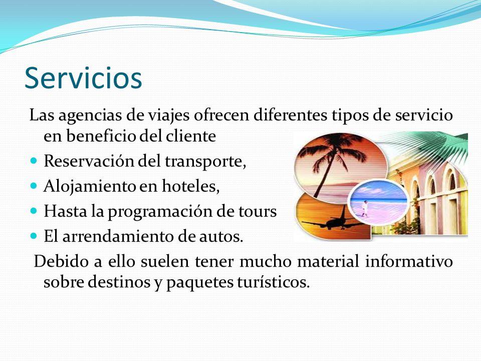 Agencia de viajes c p maria guadalupe sanchez cazares for Tipos de servicios de un hotel