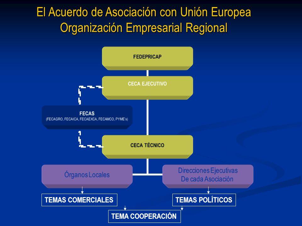 El Acuerdo de Asociación con Unión Europea Organización Empresarial Regional