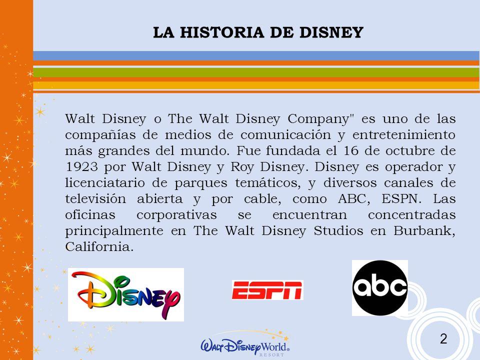 La Verdadera Historia De Walt Disney Sus Dibujos Y: LA HISTORIA DE DISNEY Walt Disney O The Walt Disney