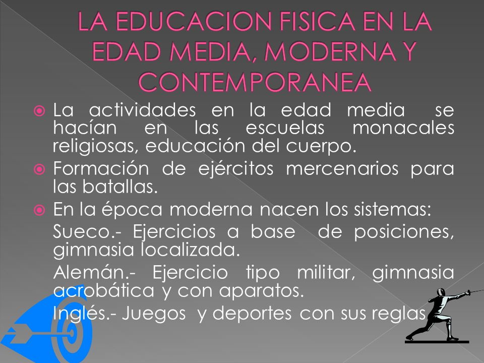 Division de la historia de la educacion fisica ppt video for Epoca contemporanea definicion