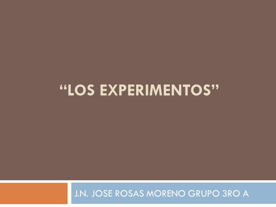 J.N. JOSE ROSAS MORENO GRUPO 3RO A