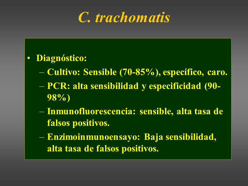 C. trachomatis Diagnóstico: