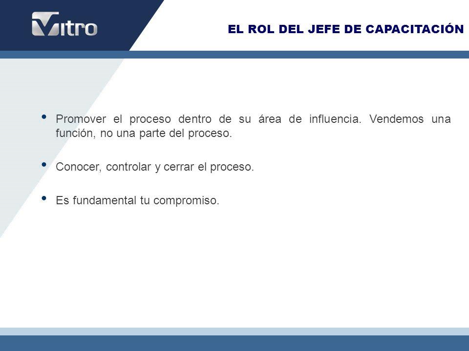 EL ROL DEL JEFE DE CAPACITACIÓN