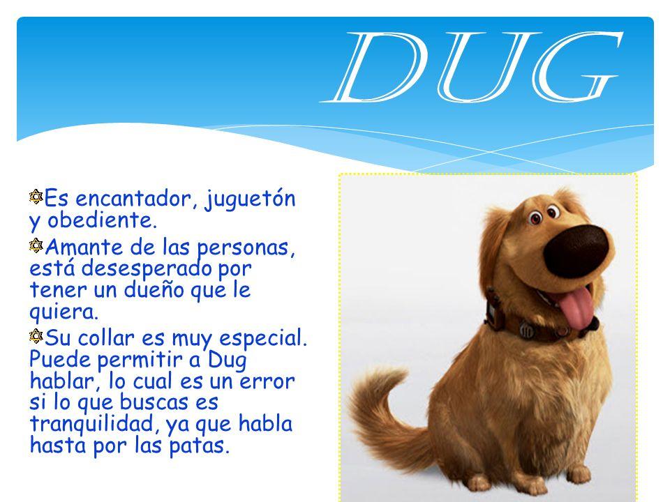 DUG Es encantador, juguetón y obediente.