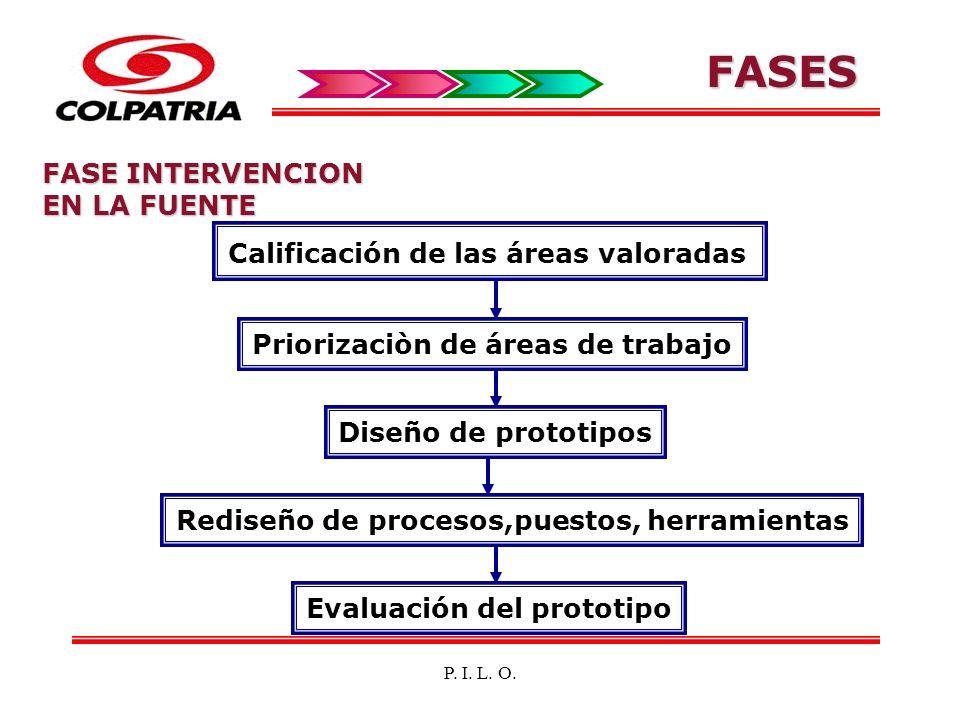 FASES FASE INTERVENCION EN LA FUENTE
