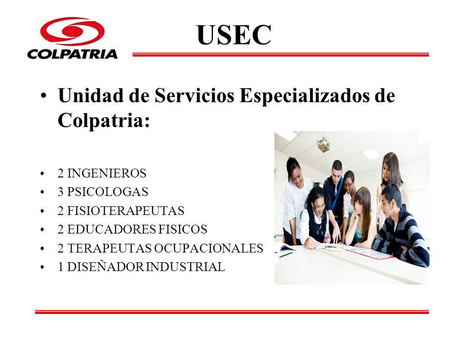 USEC Unidad de Servicios Especializados de Colpatria: 2 INGENIEROS