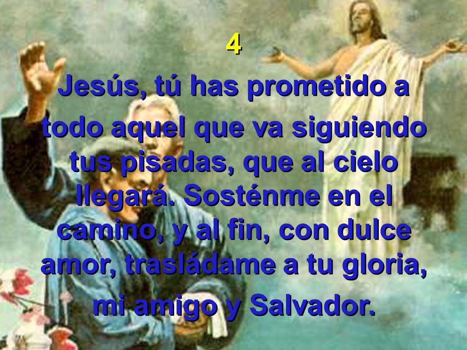 Jesús, tú has prometido a