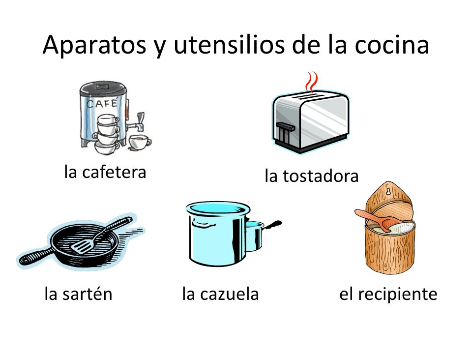 En la cocina p ppt descargar for Aparatos de cocina