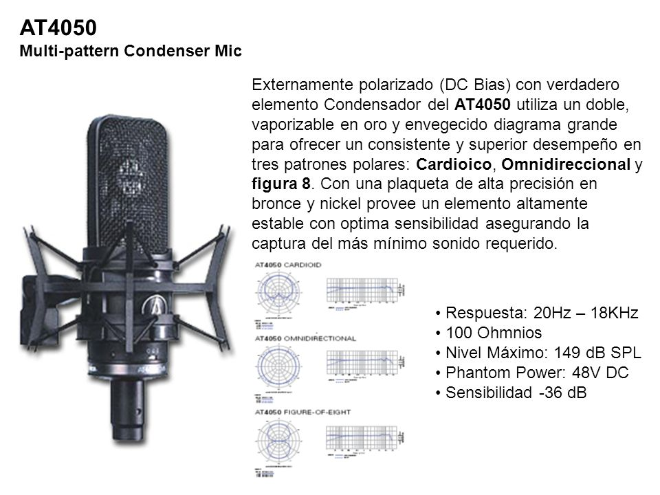 AT4050 Multi-pattern Condenser Mic