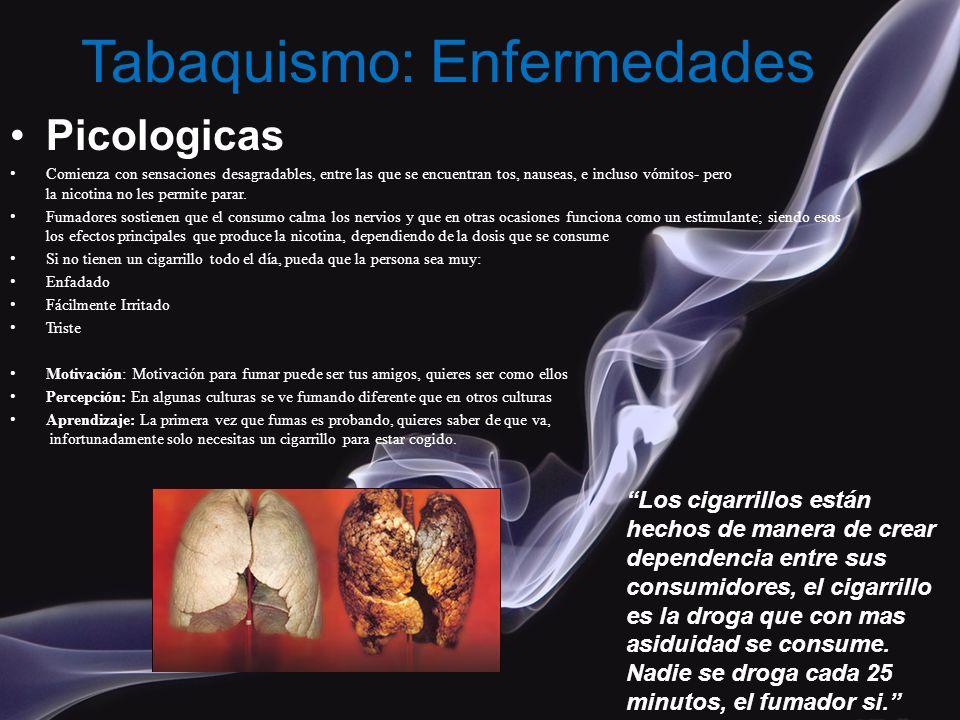 Tabaquismo: Enfermedades