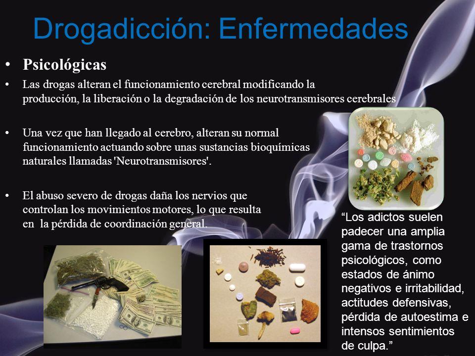 Drogadicción: Enfermedades