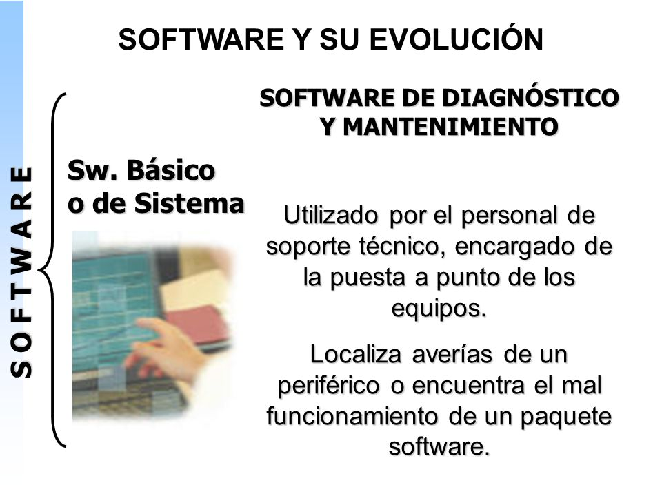 SOFTWARE Y SU EVOLUCIÓN SOFTWARE DE DIAGNÓSTICO Y MANTENIMIENTO