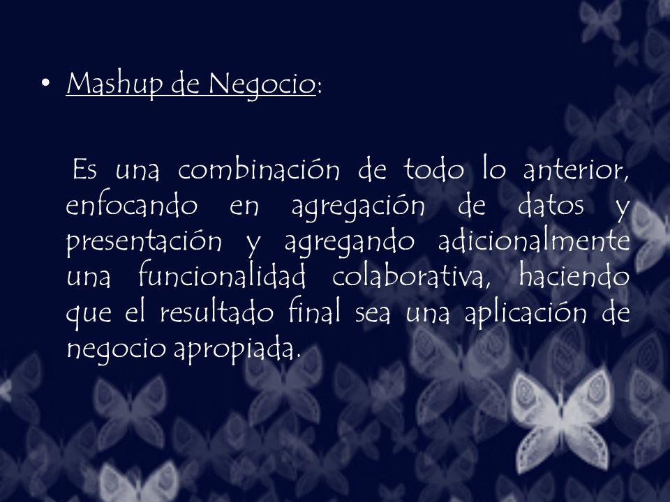 Mashup de Negocio: