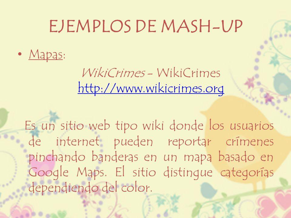 WikiCrimes - WikiCrimes http://www.wikicrimes.org