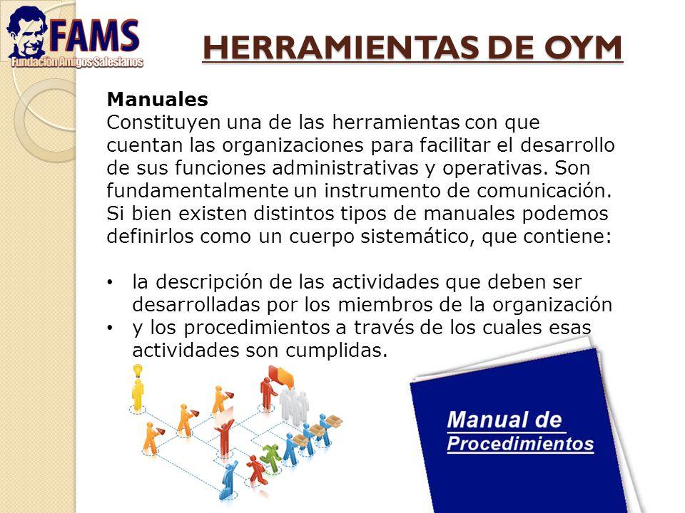 HERRAMIENTAS DE OYM Manuales