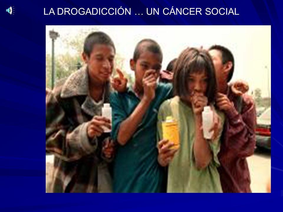 LA DROGADICCIÓN … UN CÁNCER SOCIAL