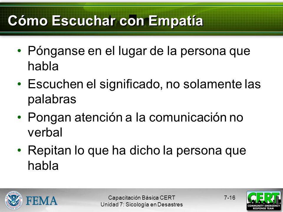 Cómo Escuchar con Empatía