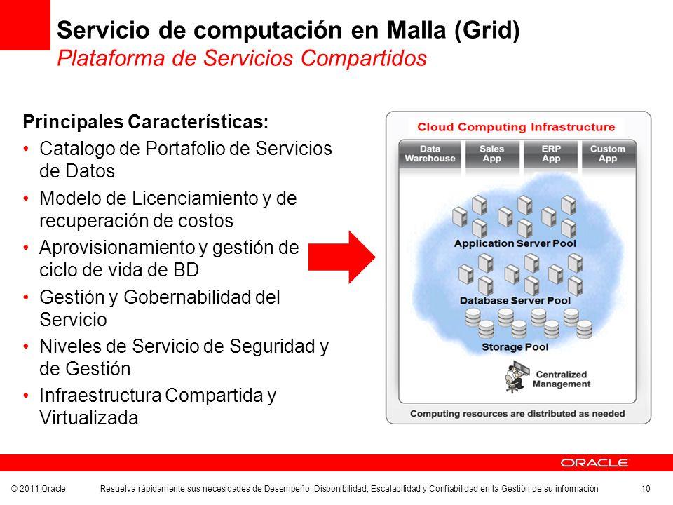 Servicio de computación en Malla (Grid) Plataforma de Servicios Compartidos