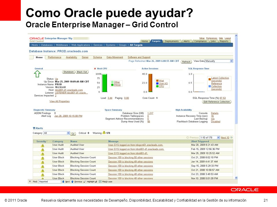 Como Oracle puede ayudar