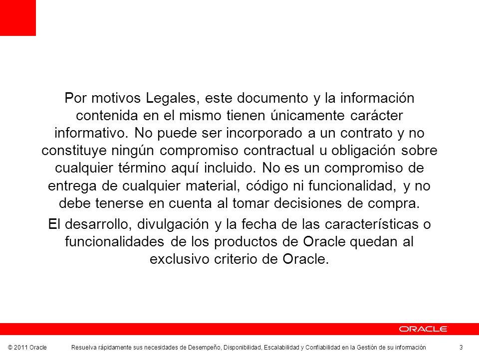 Por motivos Legales, este documento y la información contenida en el mismo tienen únicamente carácter informativo.