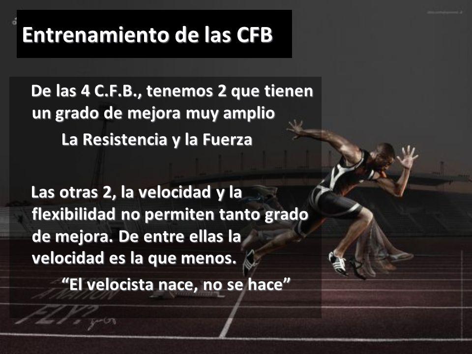 Entrenamiento de las CFB