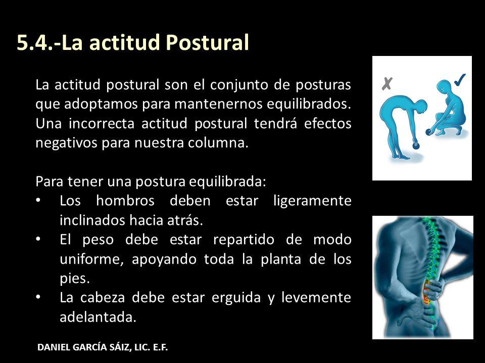 5.4.-La actitud Postural