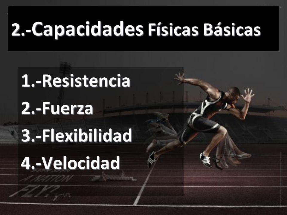 2.-Capacidades Físicas Básicas