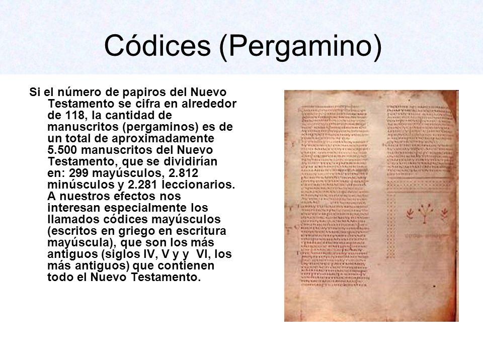 Códices (Pergamino)